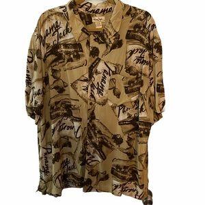 Panama Jack Vintage Button Down Shirt 2XL